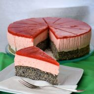 Mohn-Erdbeer-Torte GLUTENFREI