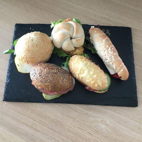 Sandwich Jourgebäck 10 Stück