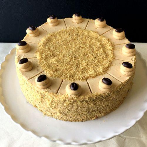 Nuss-Kaffee-Torte GLUTENFREI