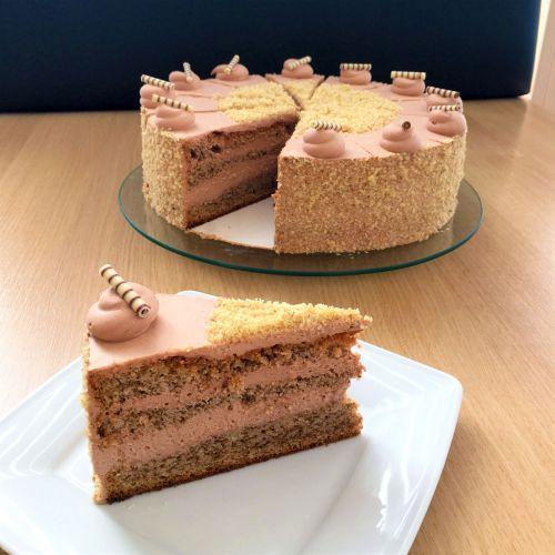 Nuss-Schoko-Torte GLUTENFREI