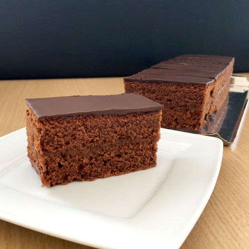 Schokoladenschnitte Sacher Art