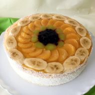 Topfen-Obst-Torte