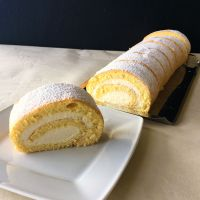 Topfenroulade